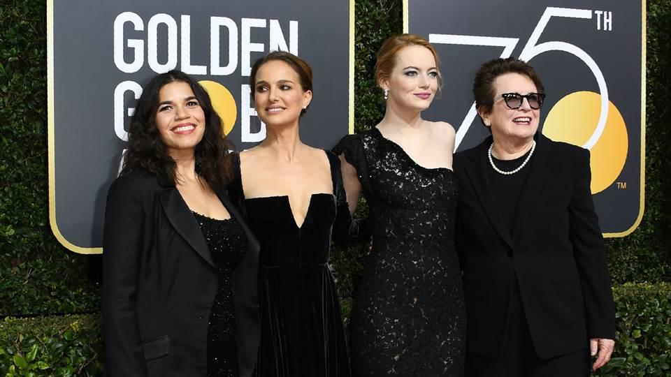Feminismo en los globos de oro 2018