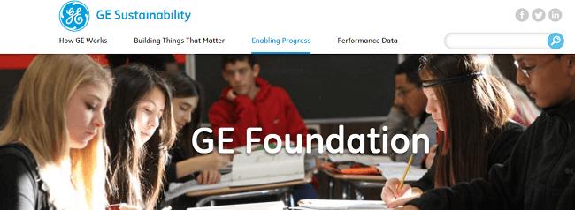GE fundacion una manera de formas de demostrar la responsabilidad social