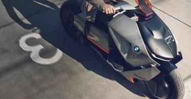 Moto eléctrica de BMW