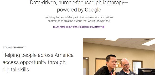 formas de demostrar la responsabilidad social caso Google