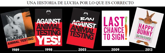 Historia de lucha en contra de pruebas en animales de The Body Shop en el rumbo resposable