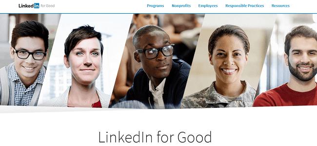 formas de demostrar la responsabilidad social caso LinkedIn