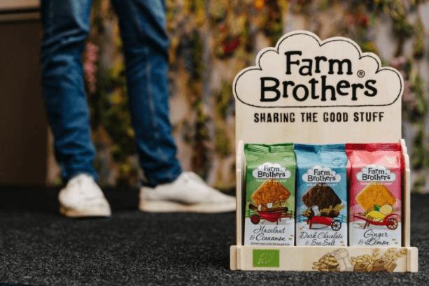 Parte de los productos de Farm Brothers una marca holandesa que practica responsabilidad social en los negocios de comida