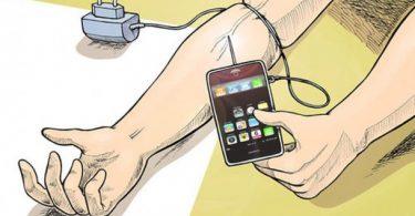 La tecnología causa adicción