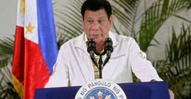 Dispárenles en la vagina: presidente de filipinas