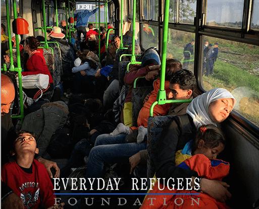 Everyday Refugee Foundation es una organización a favor de los refugiados