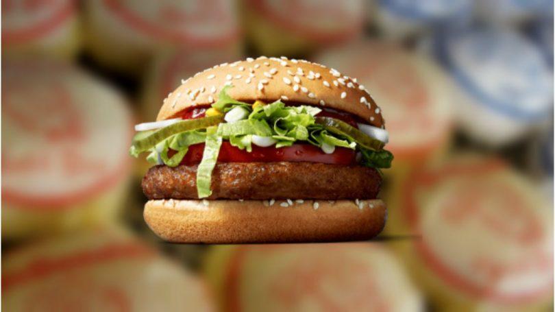 Hamburguesa vegana en McDonald's