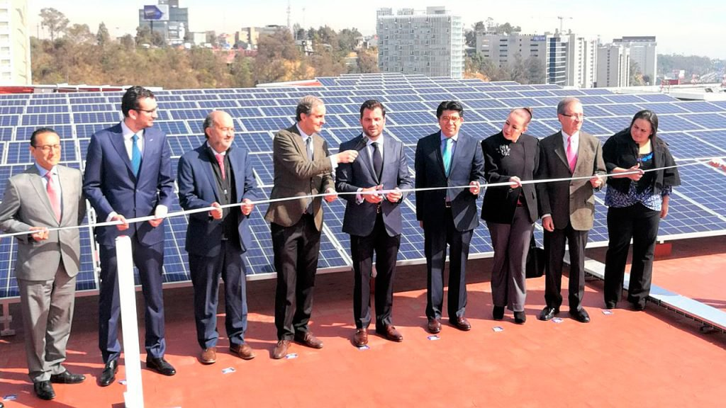 Techos solares de Bimbo en México