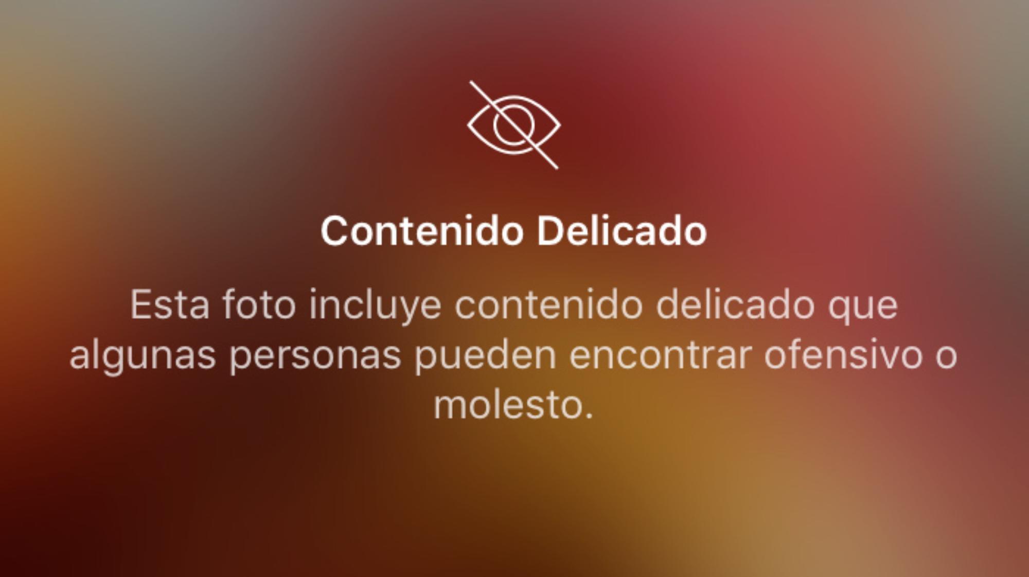 Censurar una foto de homosexualidad