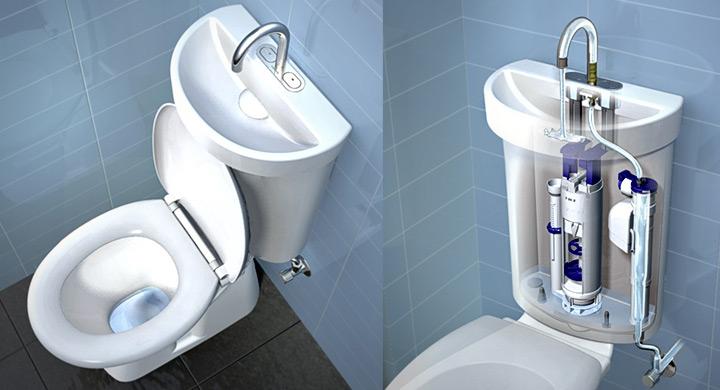 Cuidado del agua y uso de inodoros ecológicos