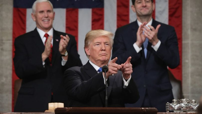 Donald Trump Estado de la Unión