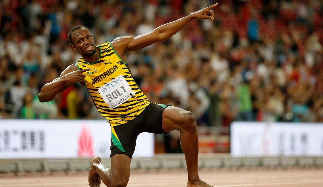 El hombre más rápido del mundo se suma a la carrera contra el hambre