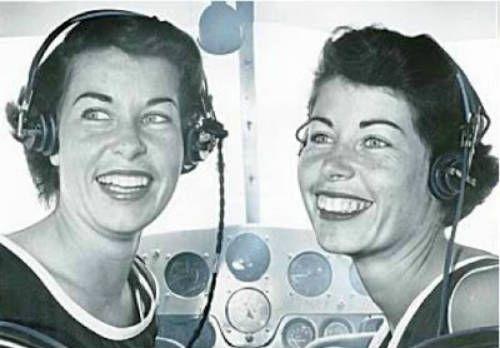 Jan y Marion Dietrich las gemeleas parte de las mujeres astronautas de Mercury 13