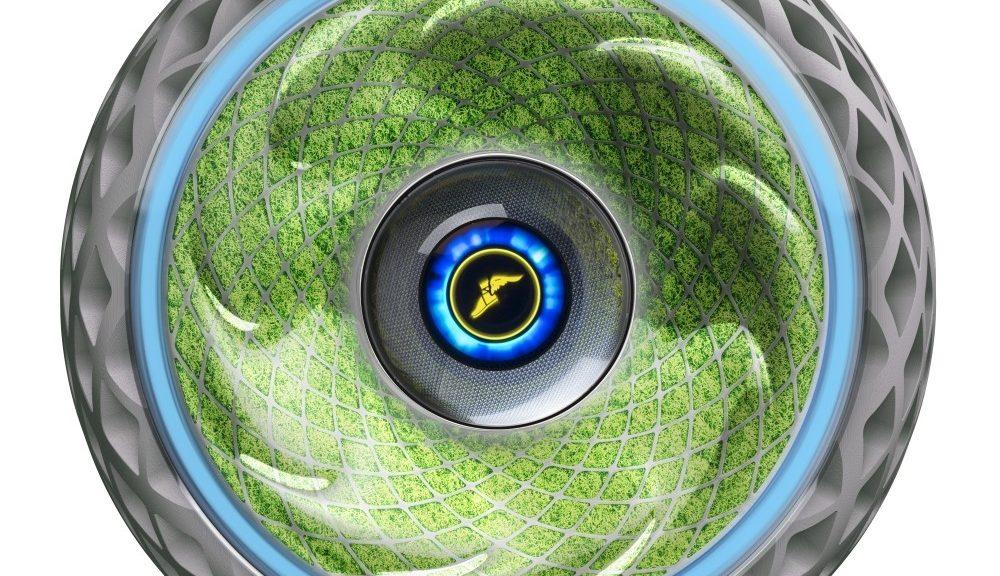 Neumático con musgo para generar oxígeno de Goodyear
