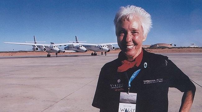 Wally Funk la mas pequeña de las mujeres astronautas parte de Mercury 13