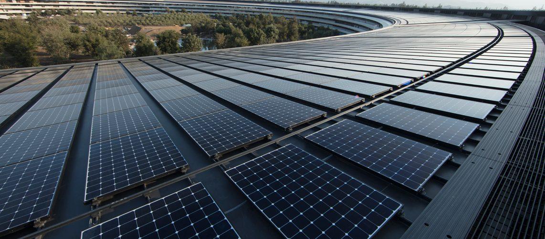 Apple opera ya al 100% con energía renovable