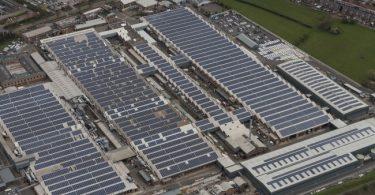El nuevo parque solar de Bentley