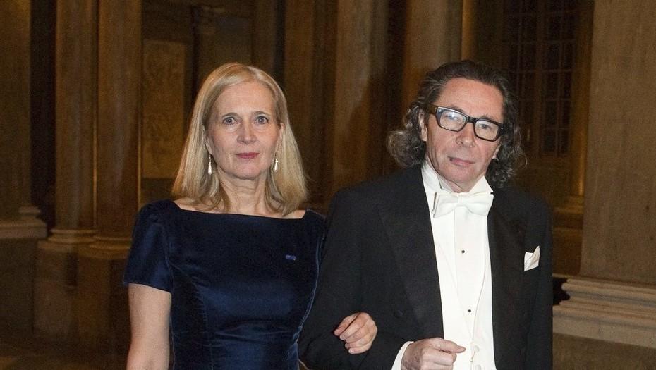 Jean-Claude Arnault y Katarina Frostenson