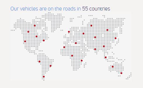 Presencia global de Tata Motors Ejemplo de programas de vínculo con la comunidad