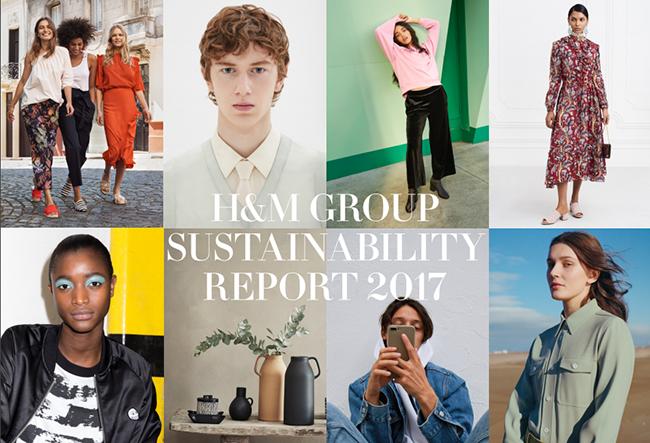 lo mas destacado del reporte de sustentabilidad de H&M