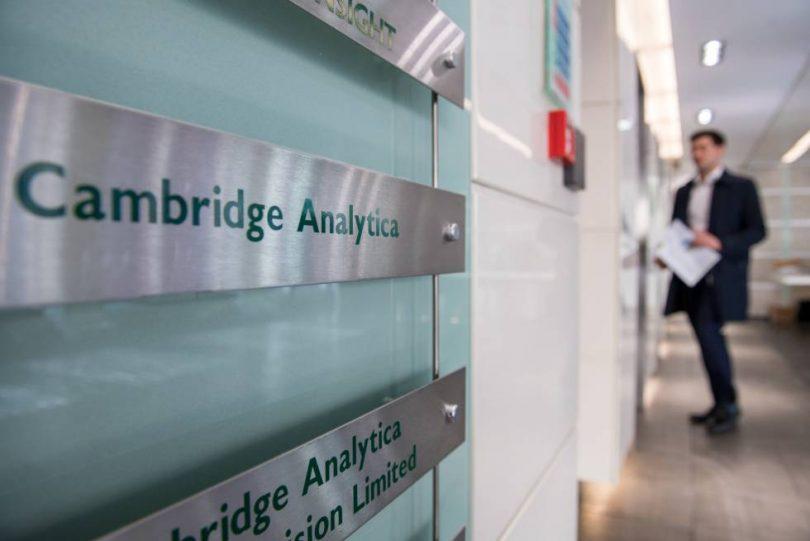 Cambridge Analytica se declara en quiebra tras el escándalo de Facebook