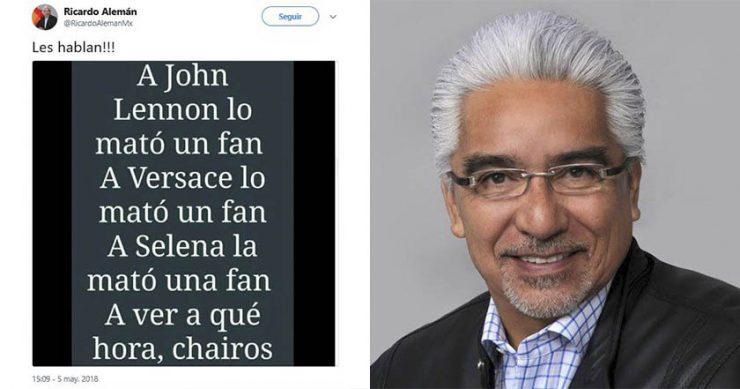 Censura mediática: despiden a Ricardo Alemán