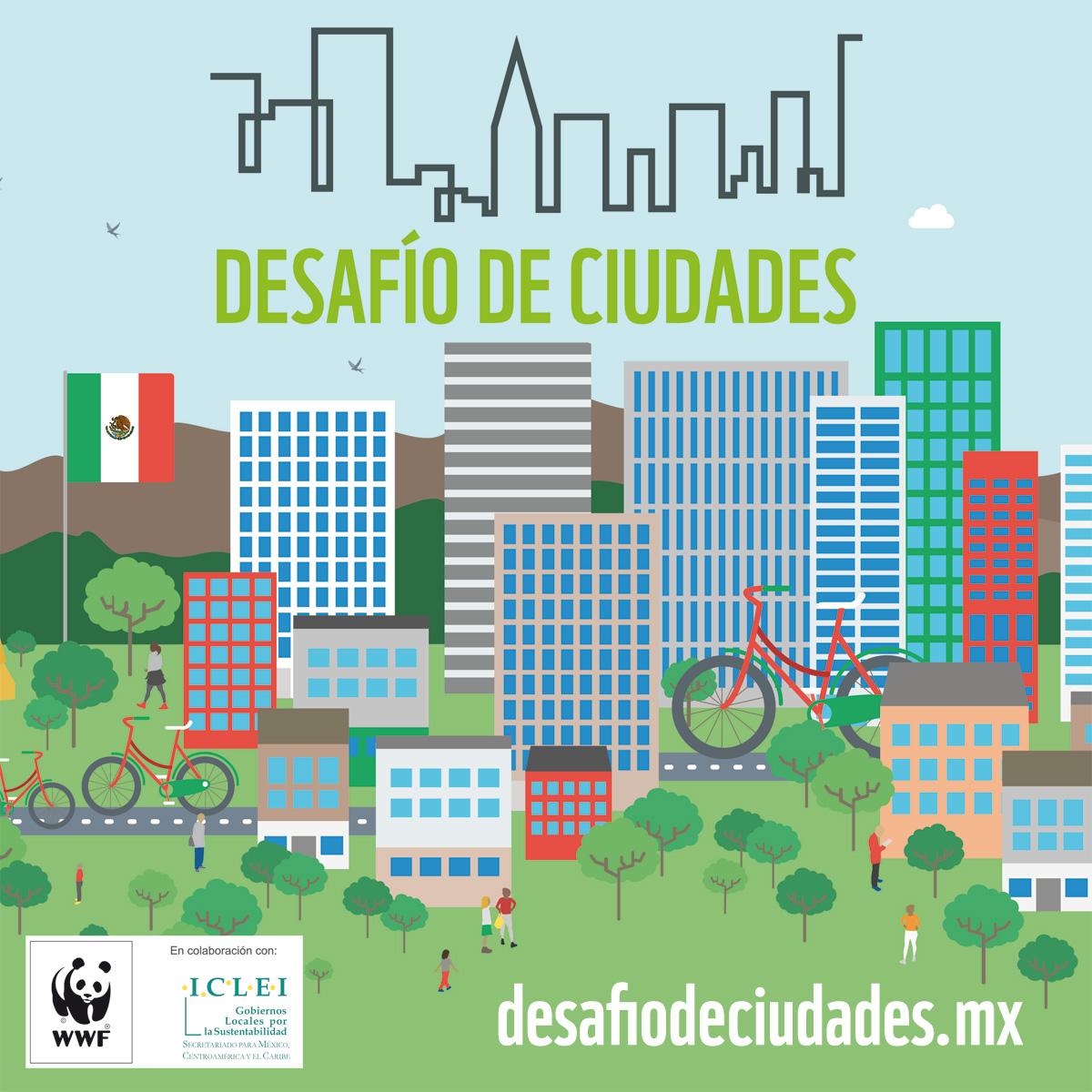 Dos ciudades mexicanas van por Desafío Ciudades 2018