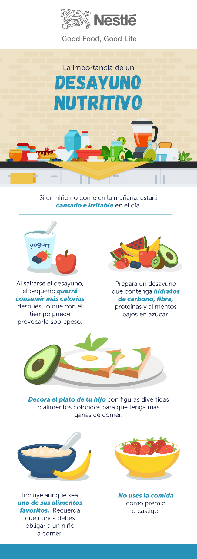 Dieta sana y saludable para ninos