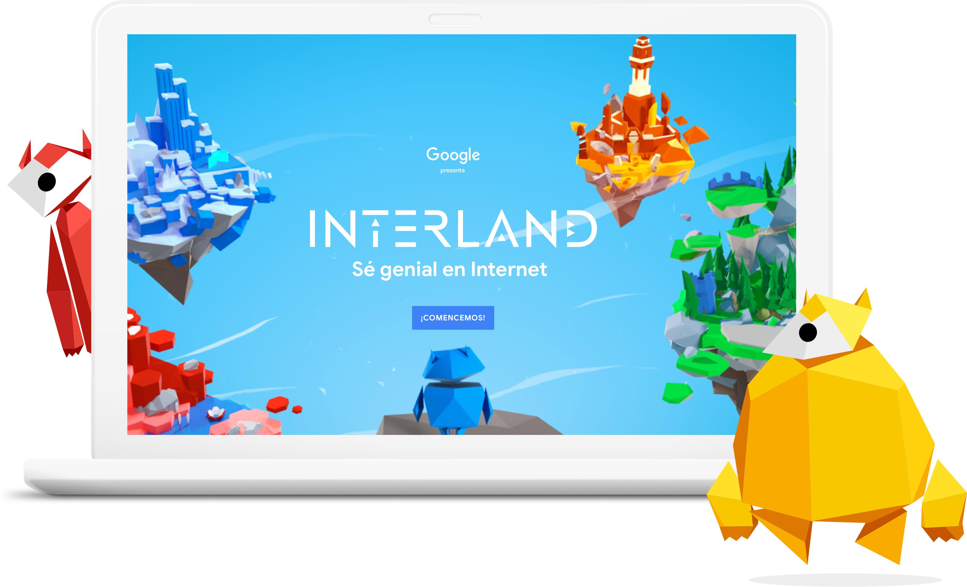 El juego de google para navegar seguros en la red