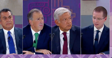 Tercer Debate Presidencial: México 2018