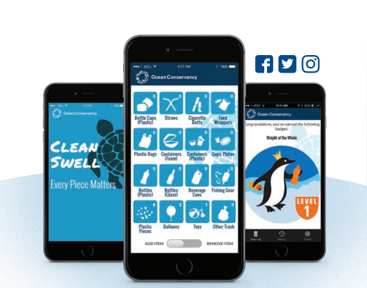 Conservar a los oceanos con una app movil