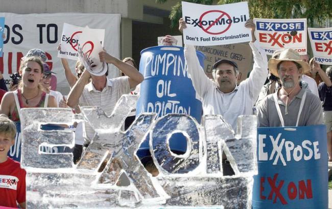 La posición de Exxon sobre el cambio climático