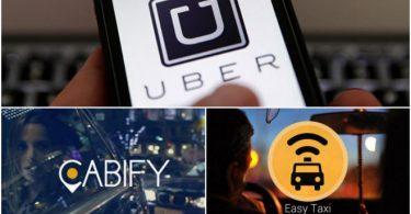 6.4 mdp de multa a Uber, Easy Taxi y Cabify: Profeco
