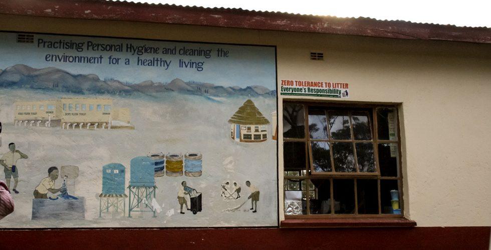 Esta escuela primaria en Nyanga es un ejemplo de buenas prácticas