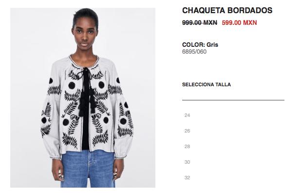 Zara lo hace de nuevo: plagia el diseño de bordados de artesanas de Chiapas