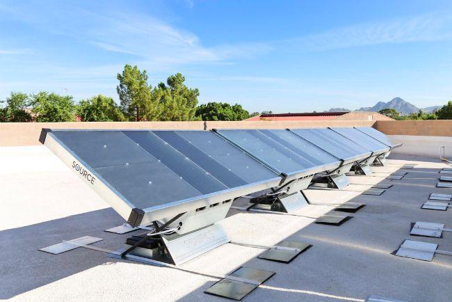 que es un hidropanel solar, grupo modelo, como obtener agua del aire, agua del aire, vapor de agua, paneles solares que generan agua, zero mass water, crisis del agua, respuesta a crisis del agua, como obtener agua potable