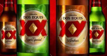 Cambio en las etiquetas en la Cerveza Dos Equis