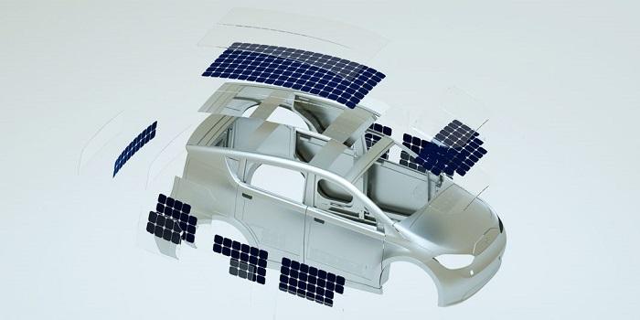 El primer carro eléctrico que se recarga con el sol