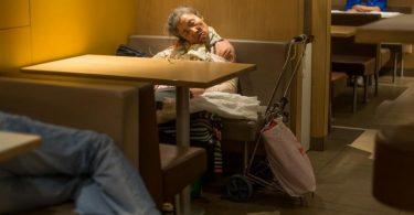 McDonald's convertidos en refugios en HongKong