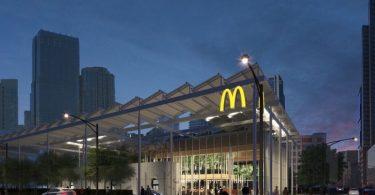 McDonald's sustentable llega a Chicago ¡con un jardín flotante!
