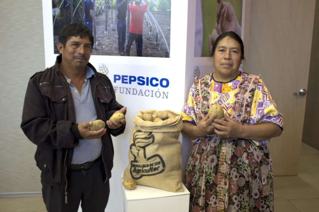 agricultura sustentable de PepsiCo