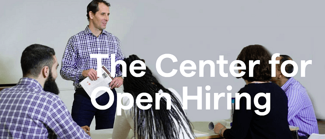 Inclusión en la contratación centro open hiring