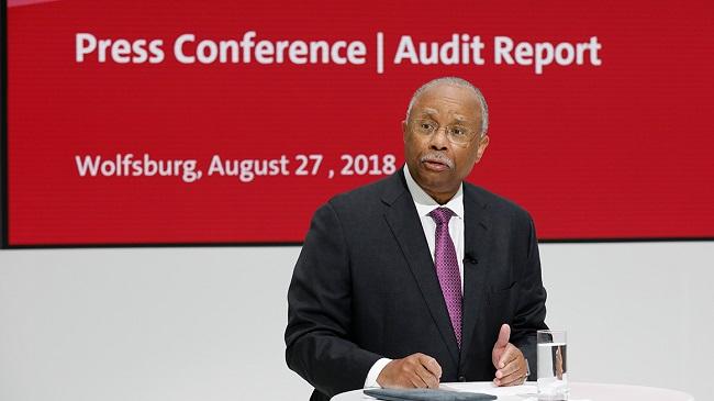 Volkswagen ya ha dado pasos importantes para lograr un cambio positivo en su cultura corporativa, de acuerdo con la evaluación del Monitor Larry D. Thompson.