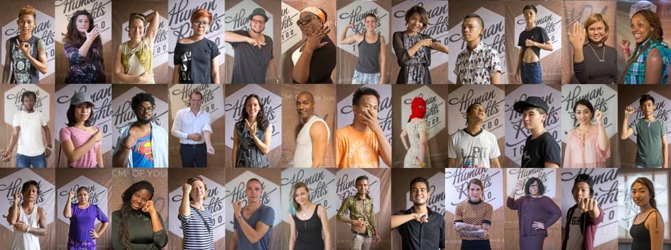 Tatuarse los derechos humanos proyecto de Human Rights Tattoo