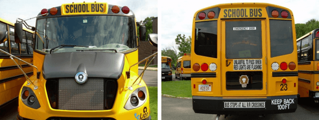 Beneficios de autobuses eléctricos en las escuelas sustentables