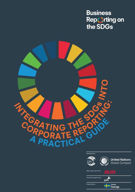 ¿Qué dice la nueva guía para que las empresas informen sobre su impacto en los ODS?