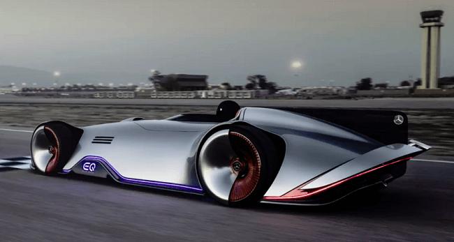 Este es el primer auto eléctrico de Mercedes Benz.