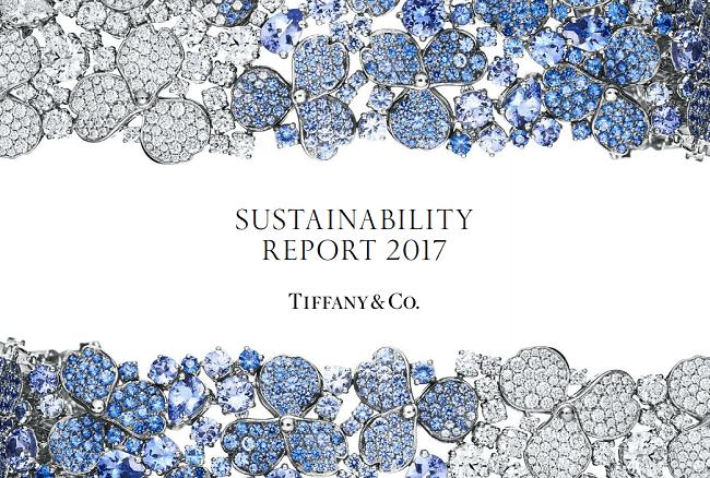 Informe de sustentabilidad de Tiffanuy para 2017