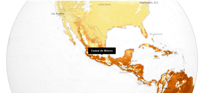 Temperaturas en Mexico