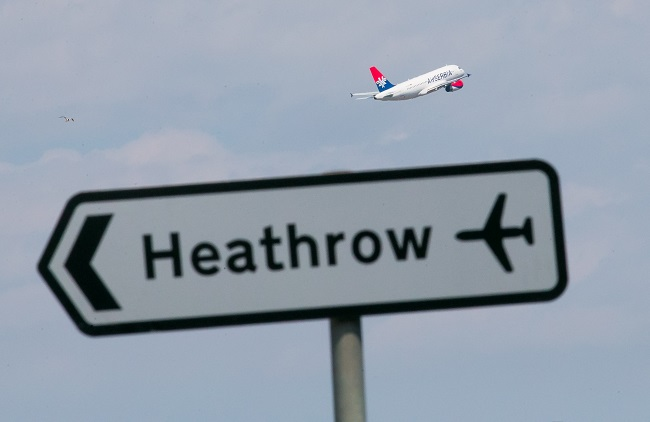Heathrow probará pistas de residuos plásticos